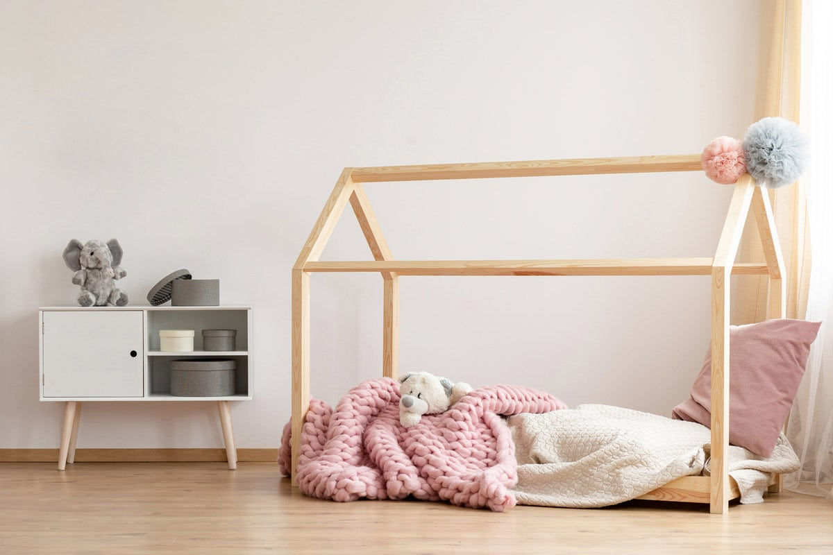Cot Bed to Big Bed