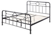 Cast Iron Effect Metal Double Bed Frame