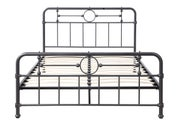 Cast Iron Effect Metal King Size Bed Frame