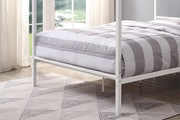 Chalfont White Four Poster Metal Double Bed Frame