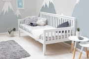 Blythe White Wooden Day Bed Single Bed 3ft