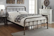 Burford Vintage Victorian Style Metal Bed Frame - Small Double 4ft