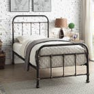 Burford Vintage Victorian Style Metal Bed Frame - Single / Small Double / Double / King Size