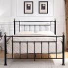 Harpenden Black Metal Bed Frame - Small Double / Double / King Size