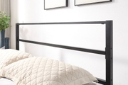 Hartfield Black Metal Small Double Bed Frame 4ft