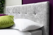 Lowther Crushed Velvet Ottoman Storage Bed - Single / Double / King Sizes