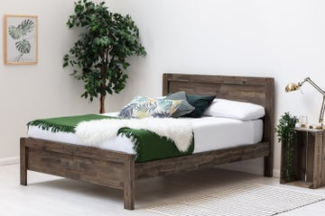 Matlock Solid Acacia Wooden Bed Frame