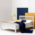 Pickmere White Solid Wooden Pine Bed Fame - Single / Double / King Sizes