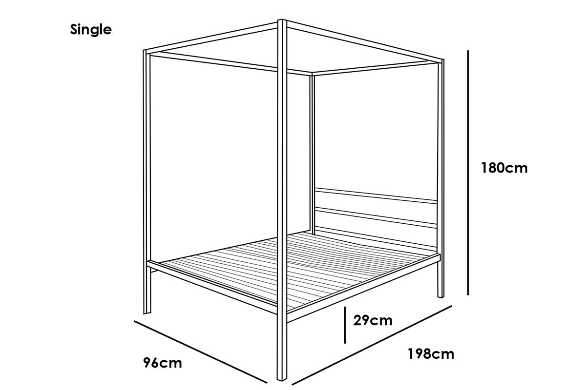 chalfont bed dimensions